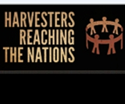 Harvesters Reaching the Nations logo