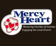 Mercy Heart red white and blue banner