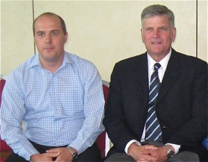 Picture of Sasko Bogeski and Franklin Graham