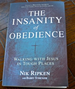 "Picture of Book, ""The Insanity of Obedience""."