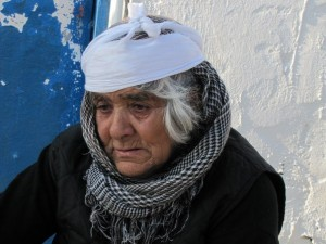 Gypsy woman from Albania
