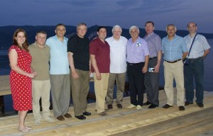 Medialliance Ron Harris with group in Romania