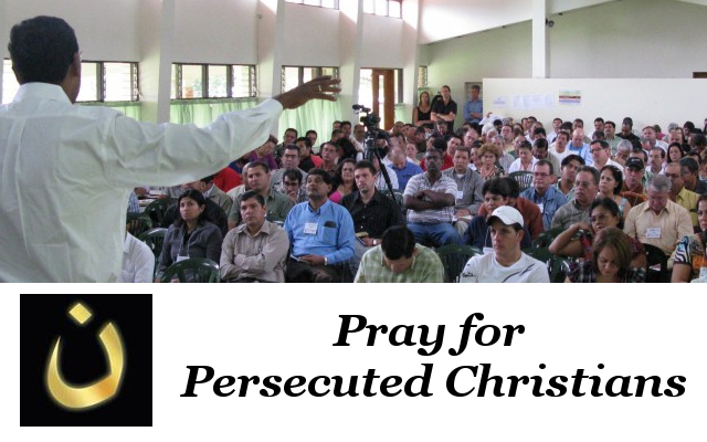 Group of Christians gathering for training.