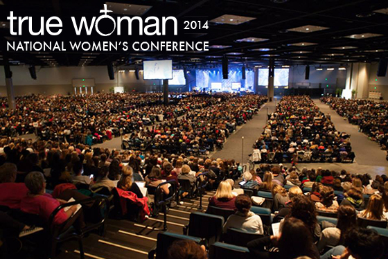 Picture from True Woman '14 Ministry Conference