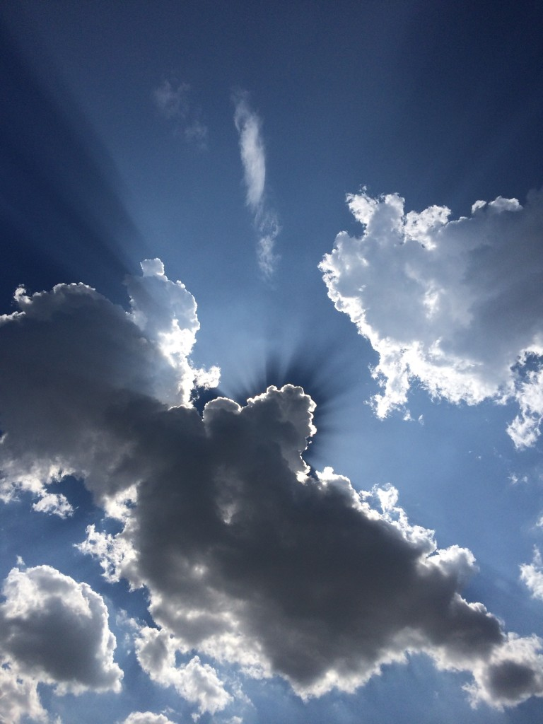 picture of heavenly sky