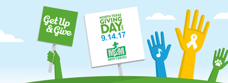 Join M2M on North Texas Giving Day