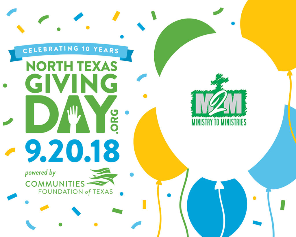 NTX giving day 2018