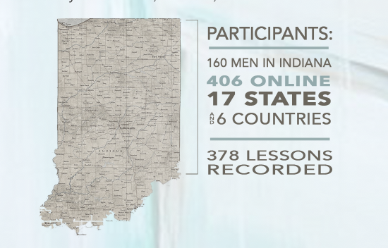 Indiana Map of Revival Time to Revive