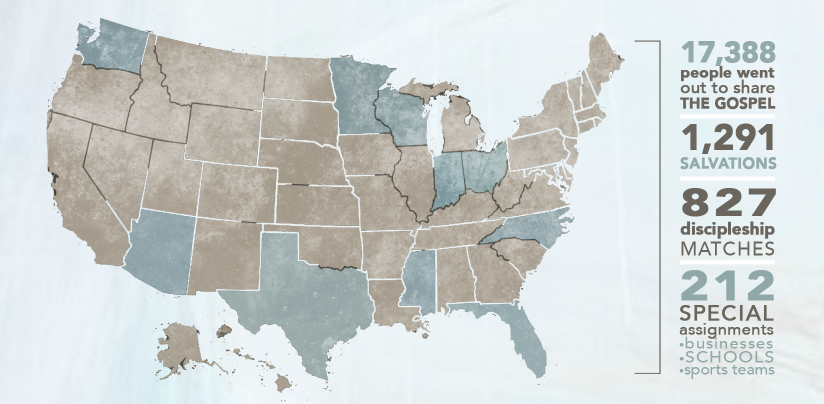 US Map of Revival Time to Revive