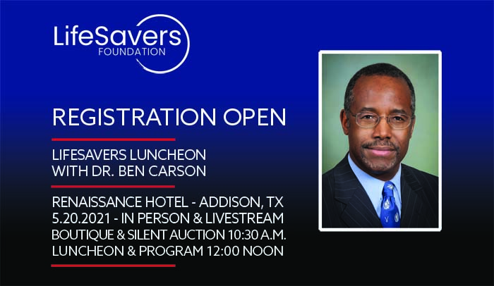 LifeSavers Foundation Luncheon with Dr. Ben Carson